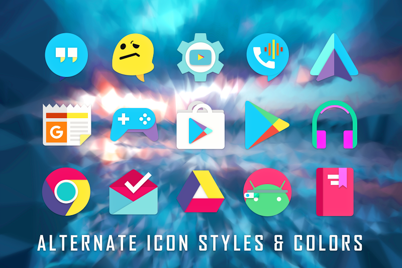 ULTRA - 80s Vaporwave Icon Pack Screenshot 9