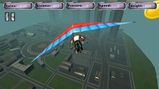 Real Hang Gliding : Free Game screenshot 14