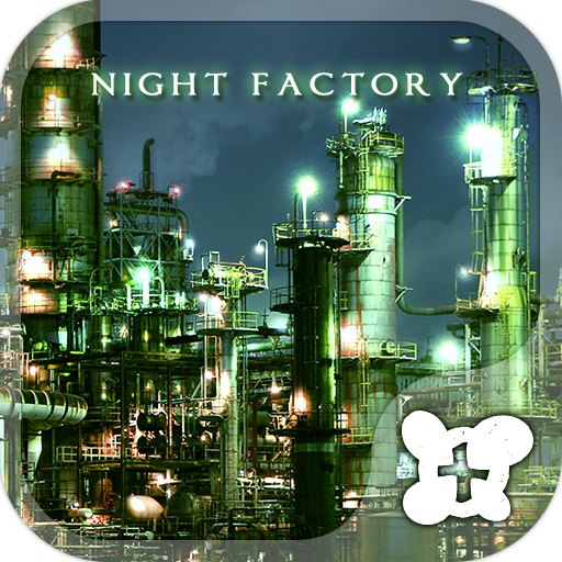 Cool wallpaper-Night Factory- Icon