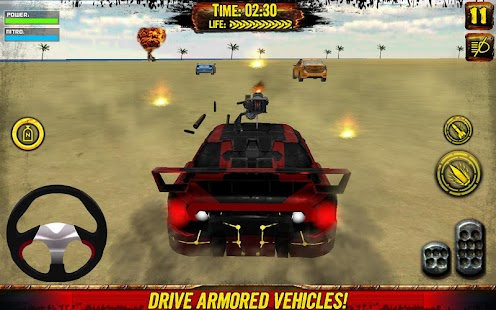 Death Race: Beach Racing Cars- screenshot