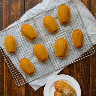 Brown Butter Pumpkin Madeleines.