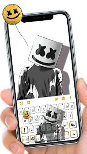 Black And White Dj Keyboard Theme 1