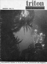 "Photo: ""Triton"" magazine cover, forerunner of ""Diver"""