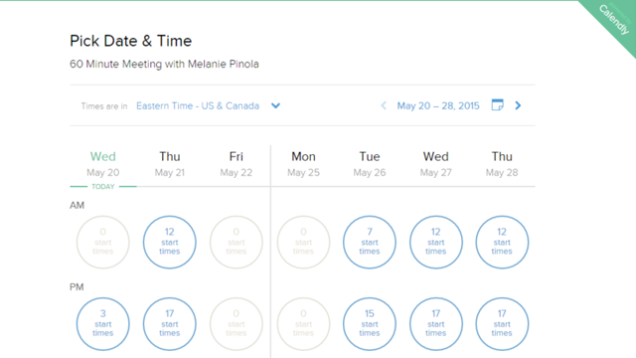 use google calendar and calendly to keep your calendar a lot more organized and streamlined