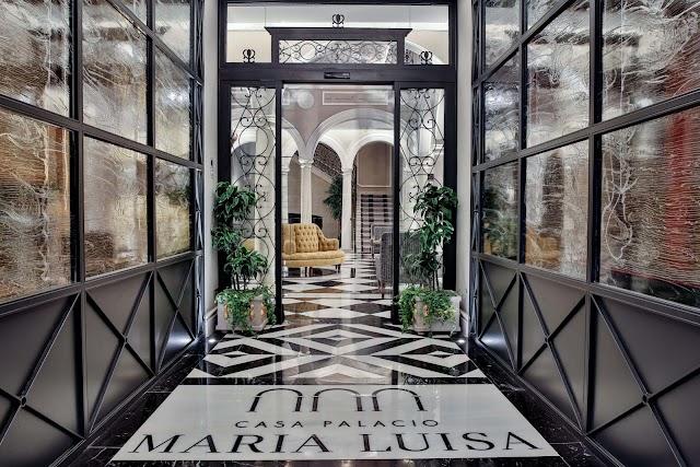 Interior Casa Palacio María Luisa.