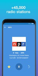 Simple Radio - Free Live FM AM Radio APK screenshot thumbnail 1