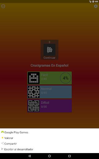 Crucigrama en espau00f1ol 1.1.3 screenshots 10