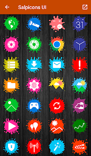 Salpicons - Icon Pack Screenshot