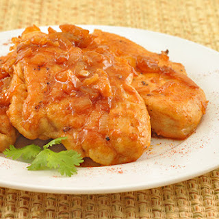 Pan-Fried Chicken with Smoked Paprika and Honey