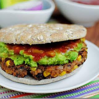 Chipotle Black Bean Burgers.
