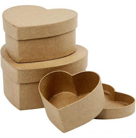 Pappaskar hjärta 3-pack