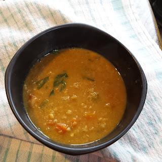 Tunisian Garlic Chickpea Soup
