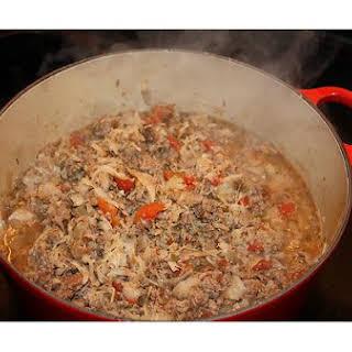 Cabbage/potato Stew.