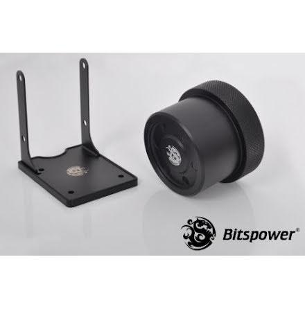 Bitspower deksel for Laing D5 baserte pumper, matt sort