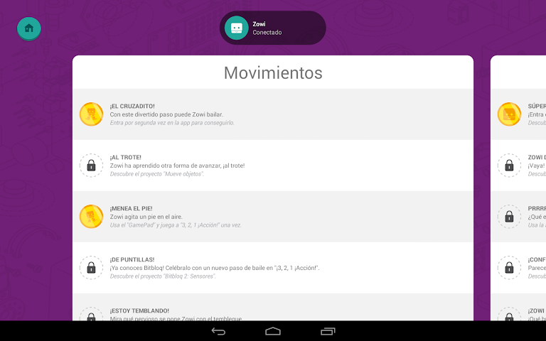 android Zowi App Screenshot 15