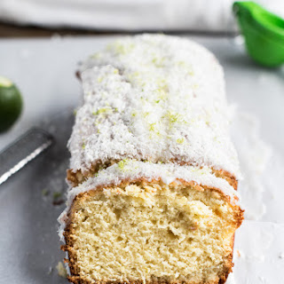 BRAZILIAN FLAIR COCONUT LIME POUND CAKE