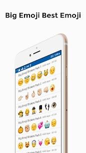 Big Emoji Stickers For Whatsapp apk download 2