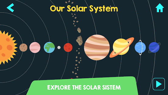 Cosmolander - The solar system- screenshot thumbnail