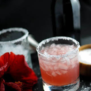 Hibiscus Salty Dog – A Vodka Cocktail.