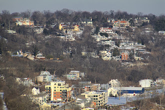 Photo: Views from Eden Park overlook to Newport and Highland Hieghts, KY