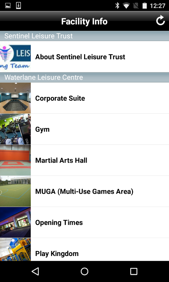 Waterlane Leisure Centre and B- screenshot