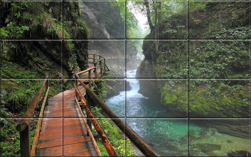 Tile Puzzle Nature apkpoly screenshots 3