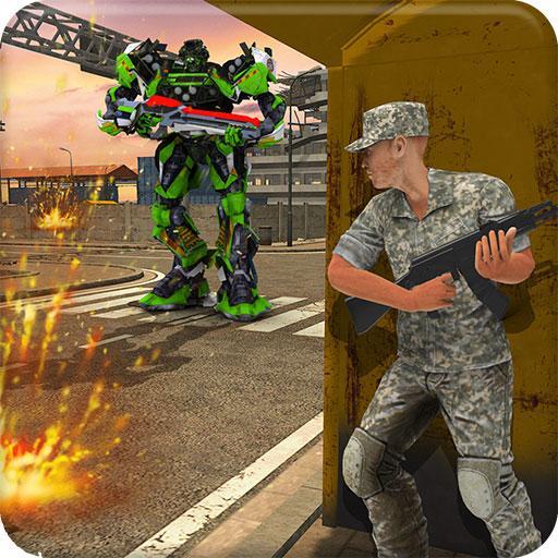 Sniper War Vs Robot Transformation 18:Future Fight