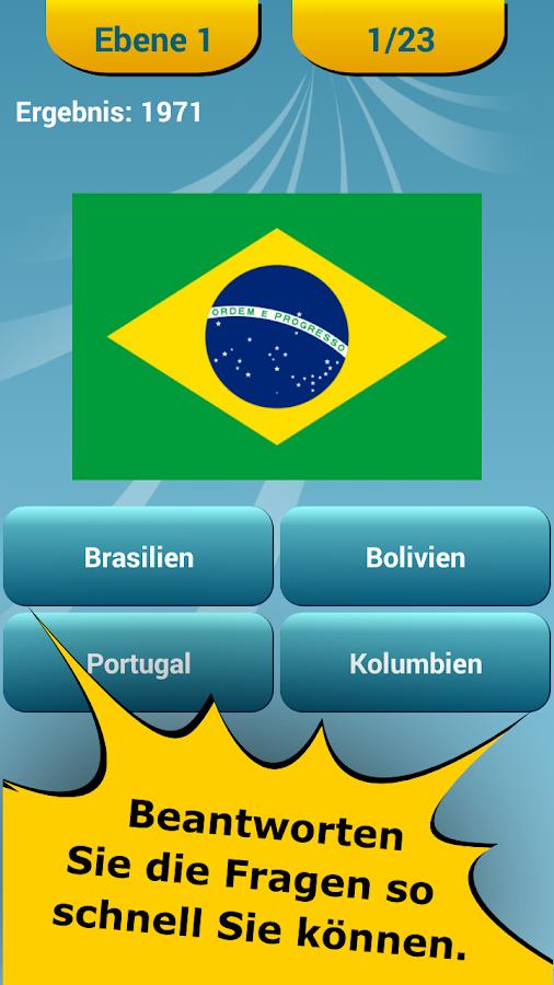 Flaggen Quiz Welt