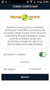 Tennis Courts Map- screenshot thumbnail
