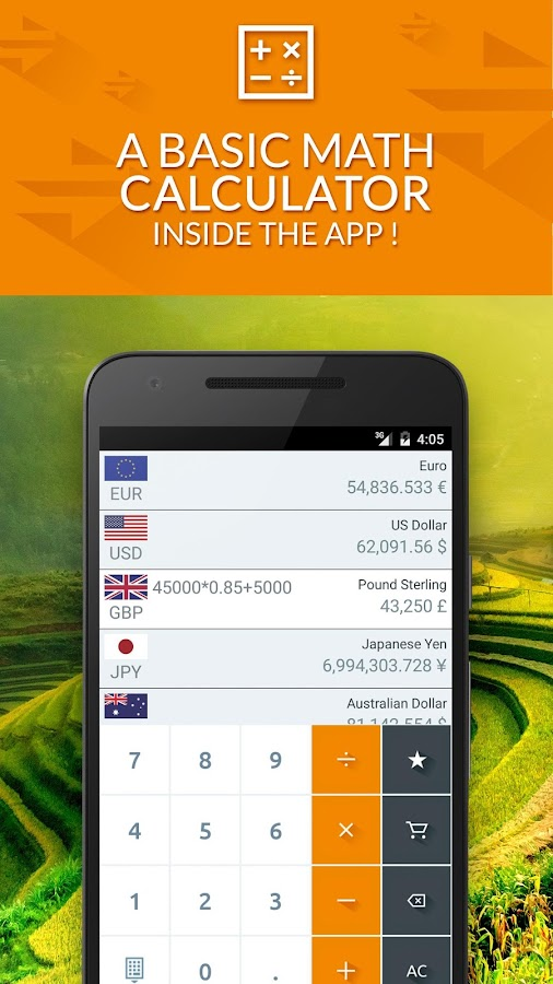 Currency converter free- screenshot