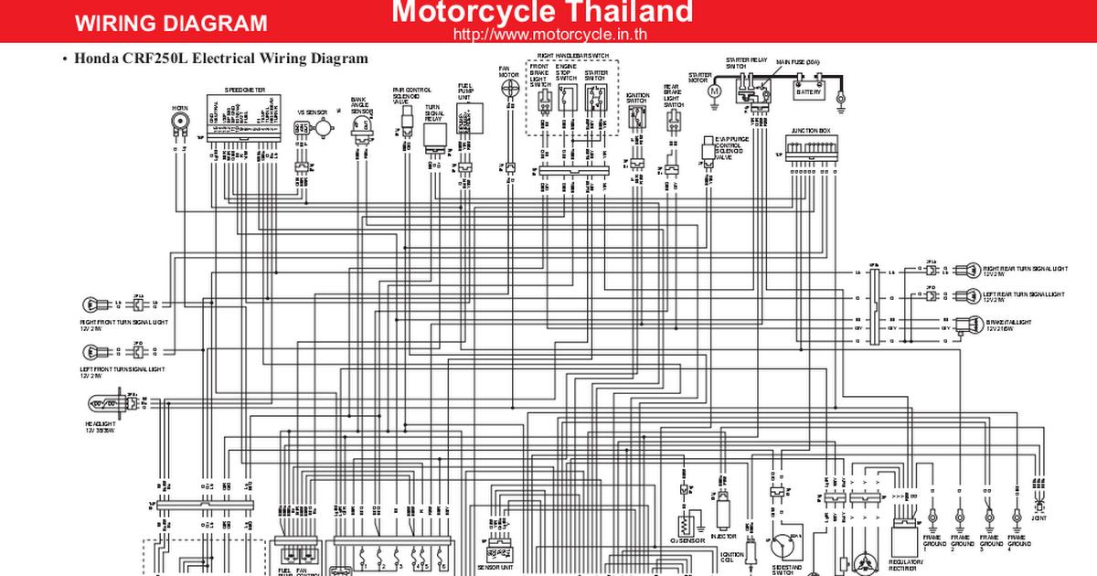 Honda-crf250l-wiring-diagram-en Pdf