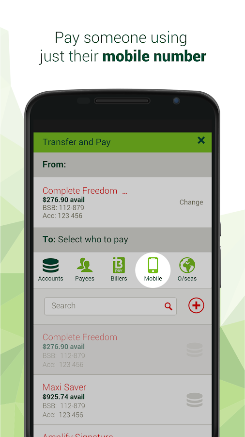 St.George Mobile Banking- screenshot