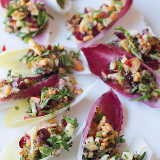 Witlof Cups With Walnut Tabouleh
