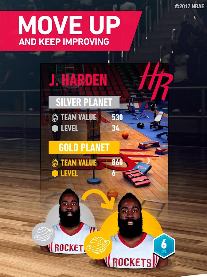 NBA General Manager 2017 - Mobile basketball game- screenshot