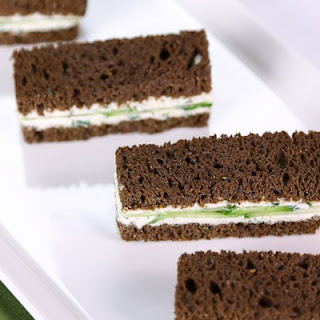 Baby Cucumber Sandwiches