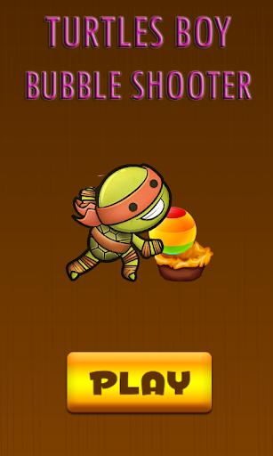 Turtles Boy Ninja Bubble Shoot