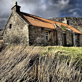 Ruin by Ian Pinn - Buildings & Architecture Decaying & Abandoned ( scotland, old, ruin, harris, abandoned,  )