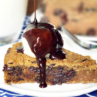 Healthy Deep Dish Cookie Pie