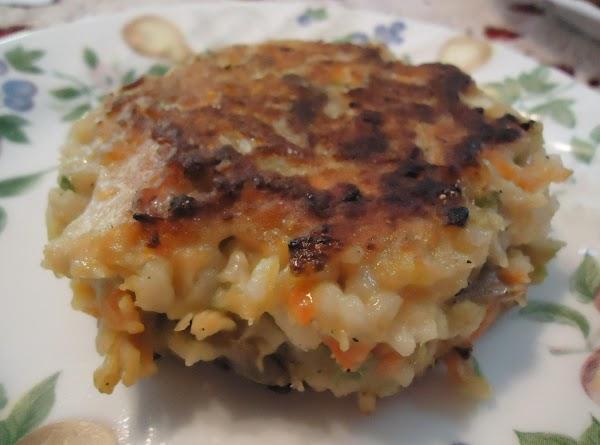 Norma's Chicken & Rice Patties Recipe