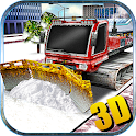 Snow Plow Truck Driver 3D icon