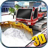 Snow Plow Truck Driver 3D