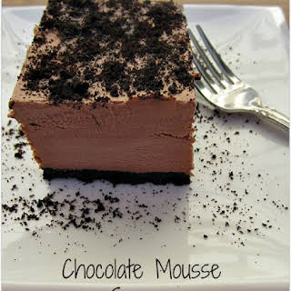 Chocolate Mousse Squares.