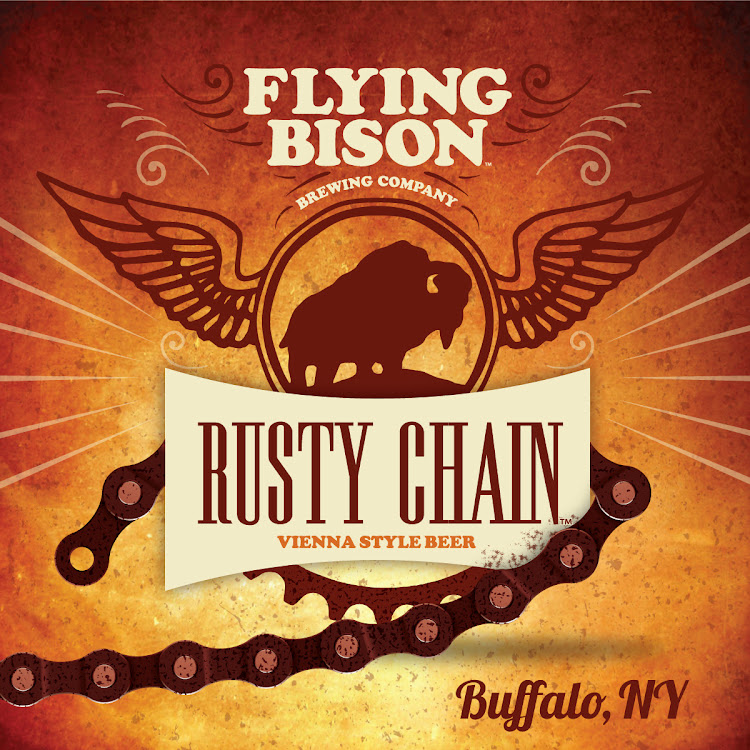 Logo of Flying Bison Rusty Chain