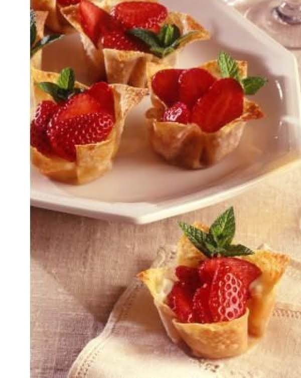 Strawberry Shells Recipe