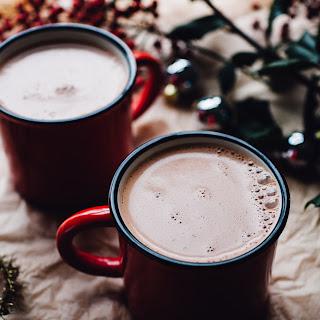 10 Minute Cashew Maca Hot Chocolate (Vegan).