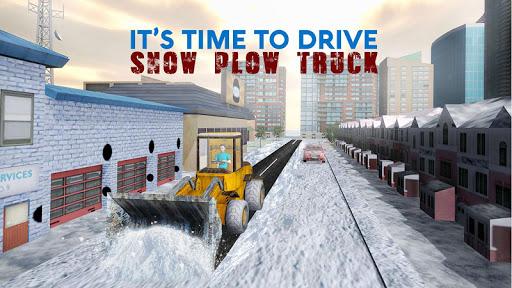 Snow Rescue Excavator Crane 3D  screenshots 2