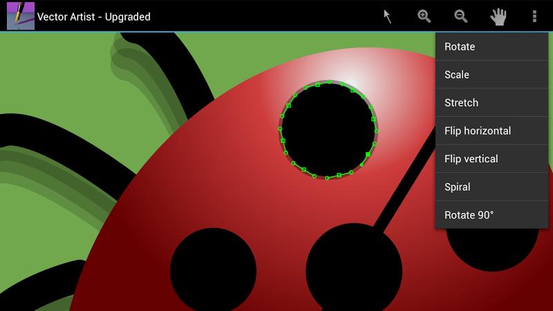 Скриншот Векторный Исполнитель