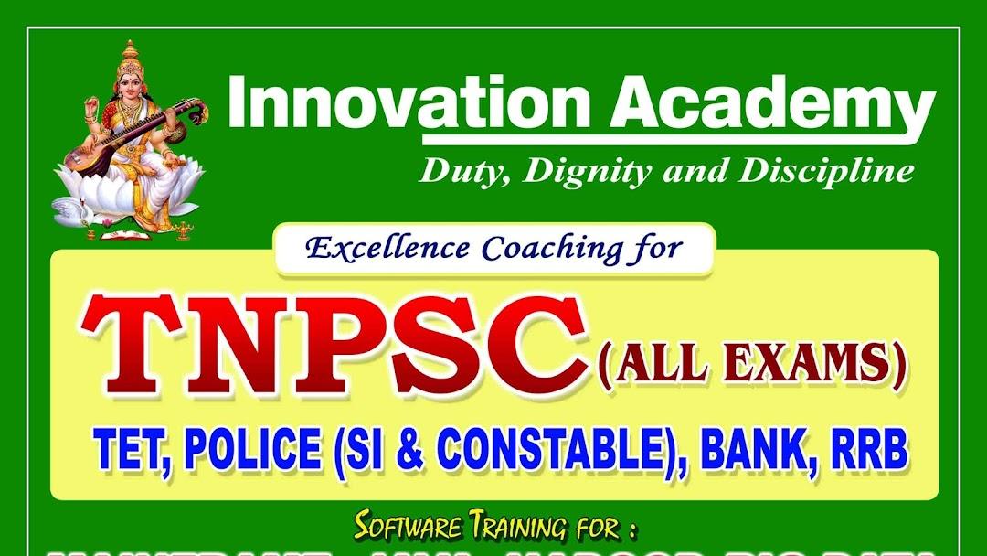Innovation Academy | TNPSC | RRB | SUB INSPECTOR | SSC |TNUSRB