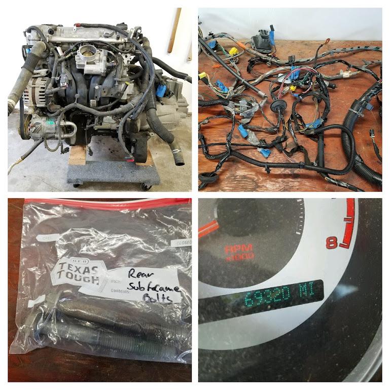 2008 pontiac g5 complete donor parts set $800 | df kit car forum  df kit car