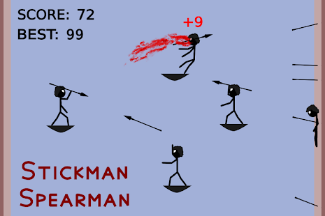 Stickman Spearman - náhled